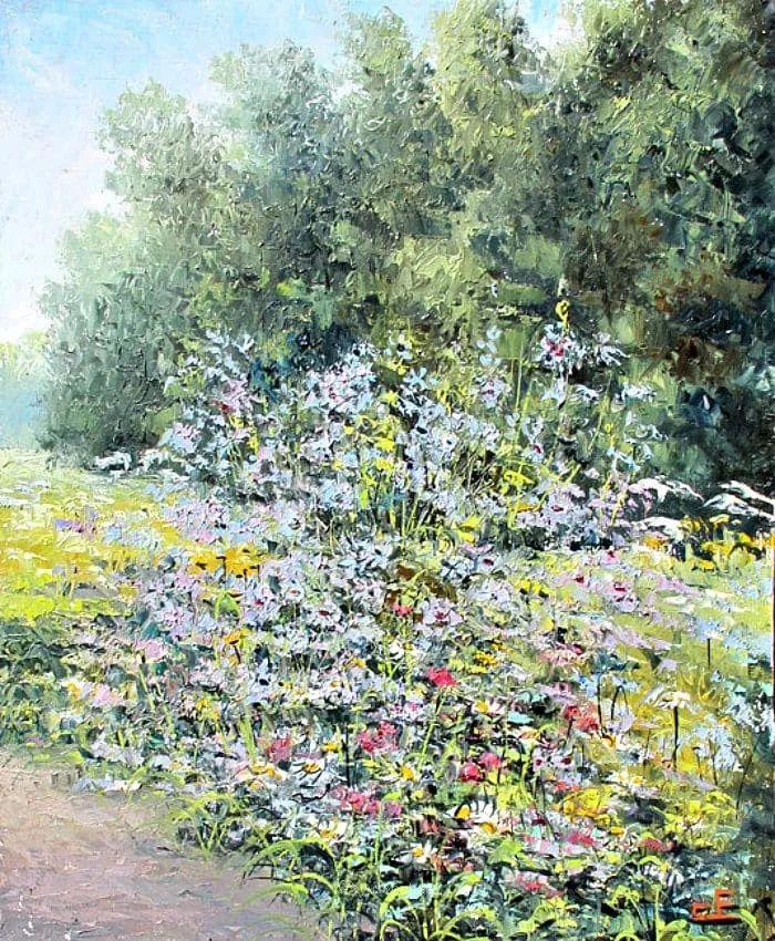 他的风景画里没有忧伤,俄罗斯画家Eugene Sinev插图47