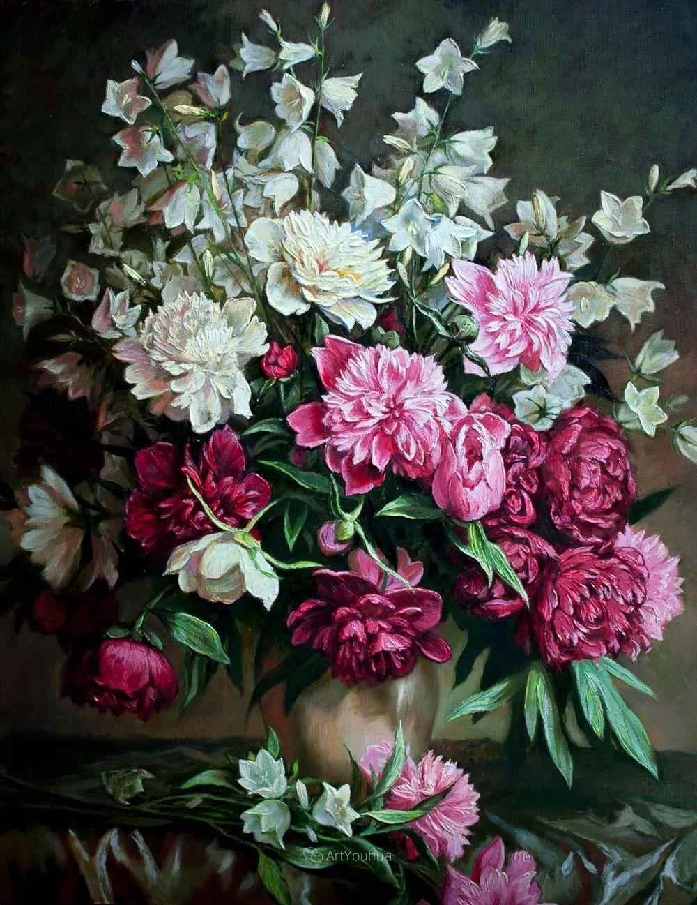 静物花卉与风景,俄罗斯艺术家Simonova Olga Georgievna插图13