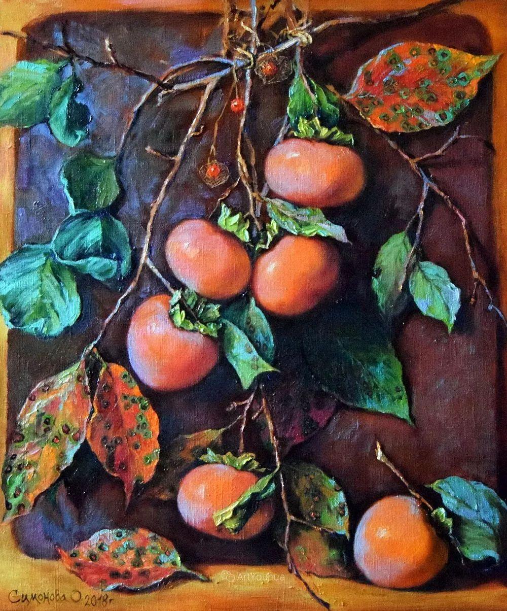 静物花卉与风景,俄罗斯艺术家Simonova Olga Georgievna插图15