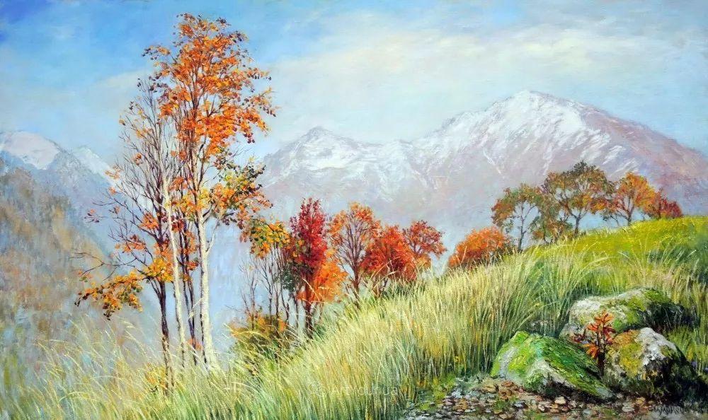 静物花卉与风景,俄罗斯艺术家Simonova Olga Georgievna插图17