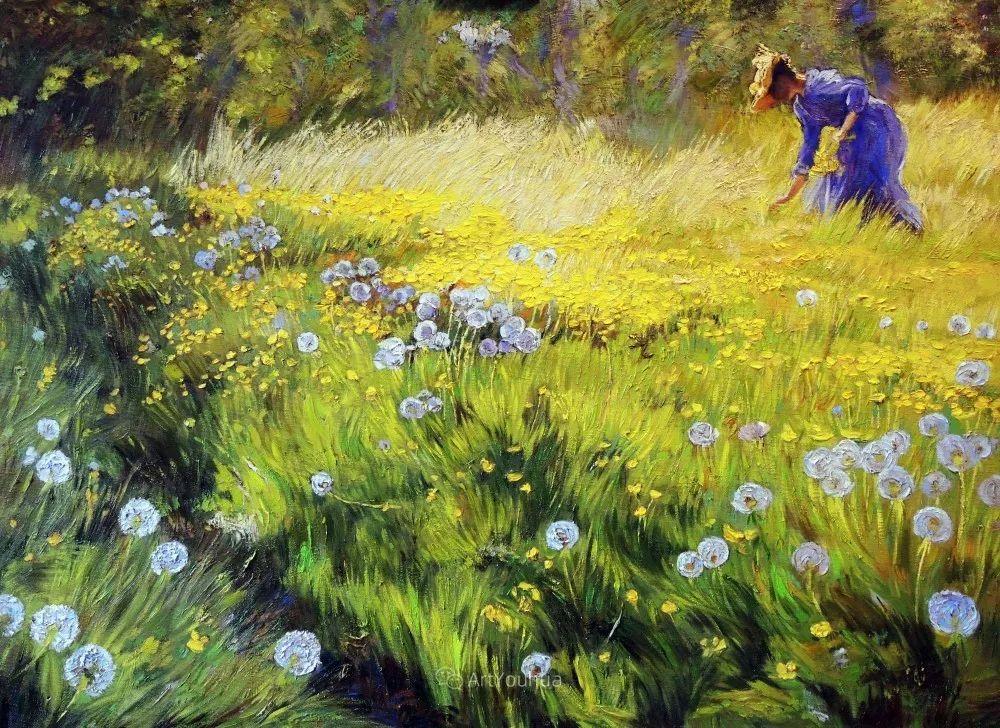 静物花卉与风景,俄罗斯艺术家Simonova Olga Georgievna插图20