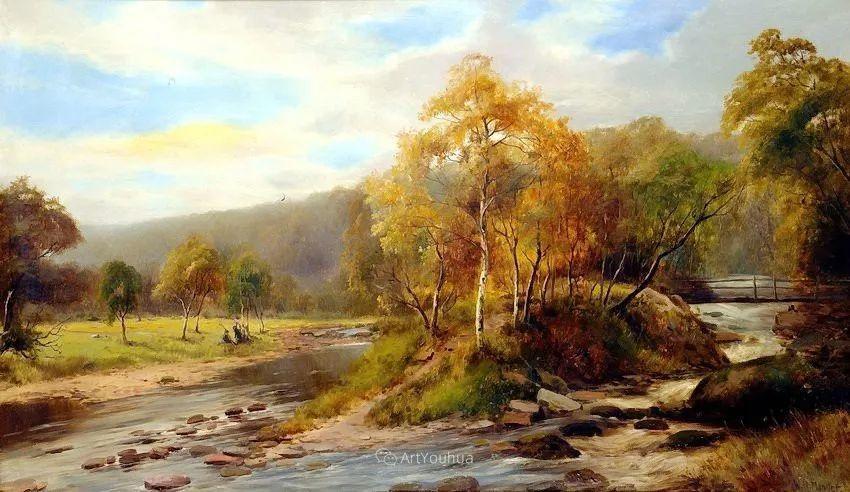特别吸引人的自然主义风格,英国艺术家William Henry Mander插图7