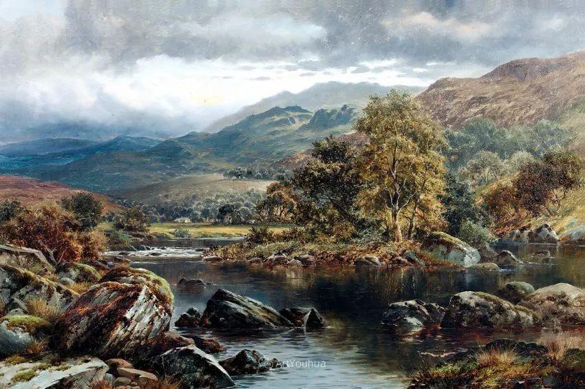 特别吸引人的自然主义风格,英国艺术家William Henry Mander插图8
