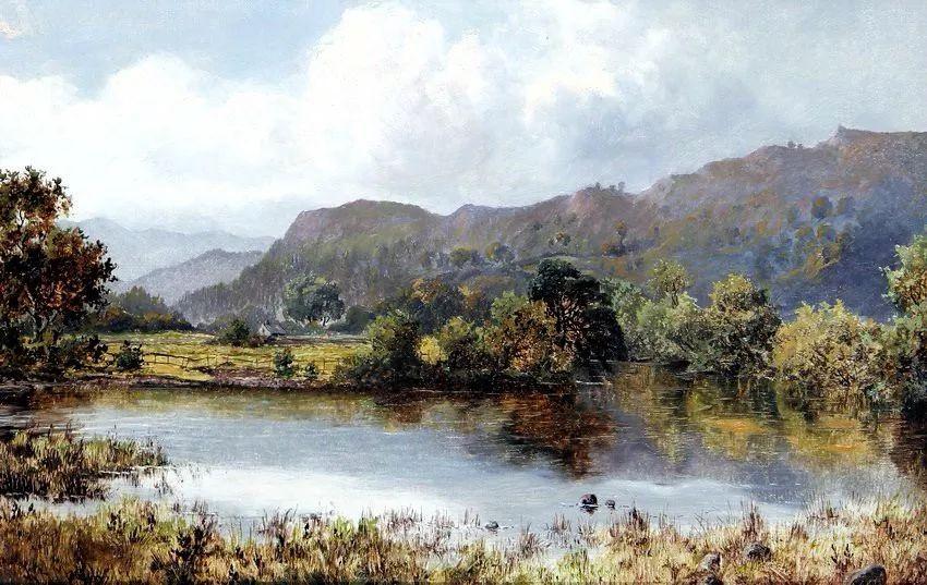 特别吸引人的自然主义风格,英国艺术家William Henry Mander插图10