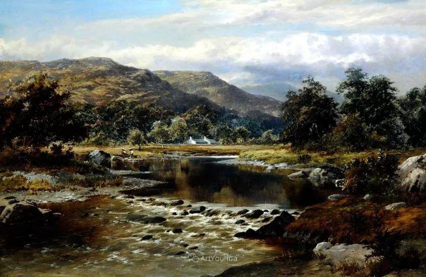 特别吸引人的自然主义风格,英国艺术家William Henry Mander插图11
