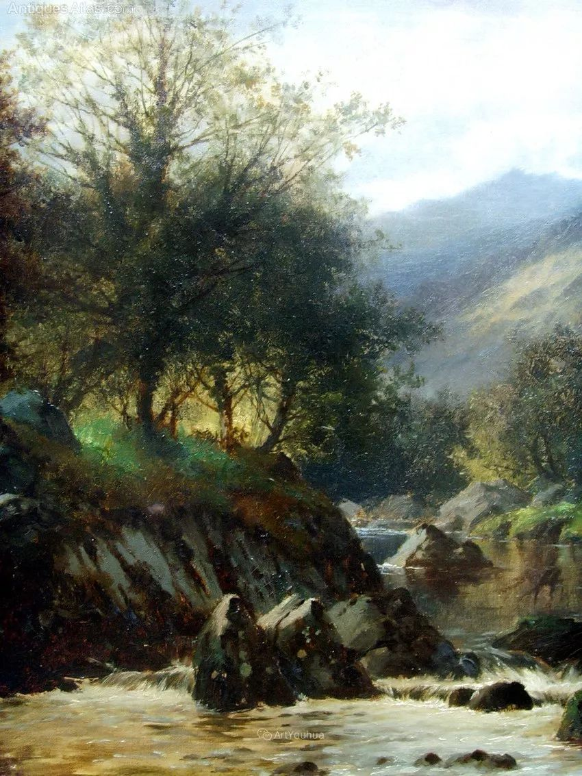 特别吸引人的自然主义风格,英国艺术家William Henry Mander插图12