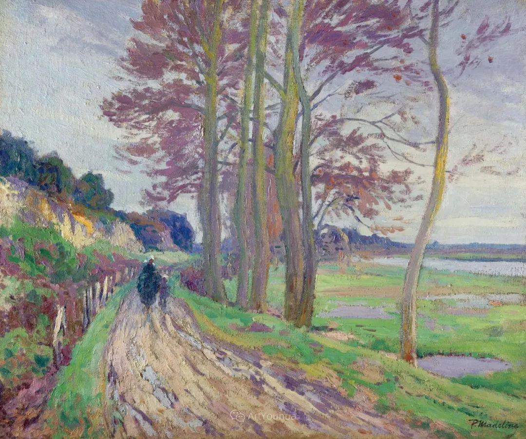 迷人的乡村风景,法国后印象派画家Paul Madeline插图9