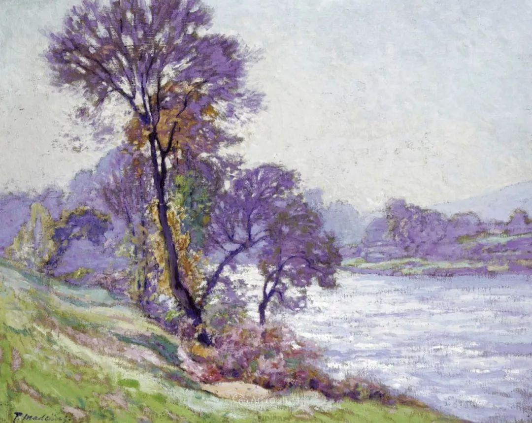 迷人的乡村风景,法国后印象派画家Paul Madeline插图11