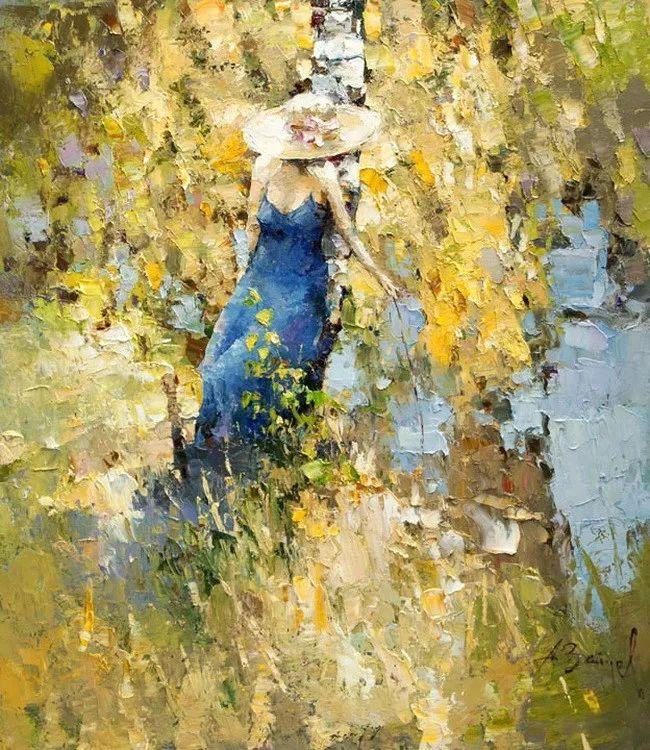 揉进阳光的笔触与色彩的完美碰撞,俄罗斯画家Alexi Zaitsev插图19
