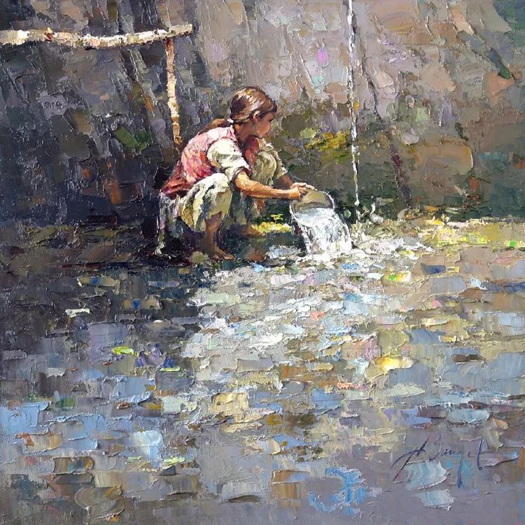 揉进阳光的笔触与色彩的完美碰撞,俄罗斯画家Alexi Zaitsev插图43