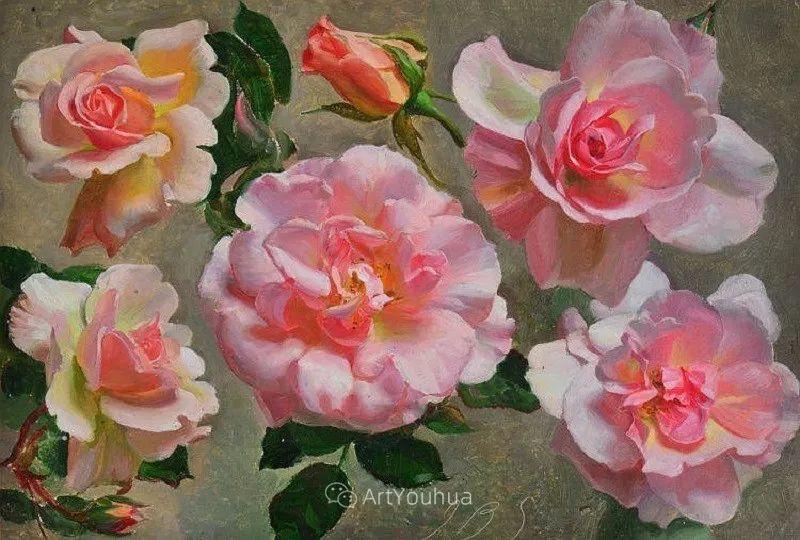 淡雅花卉静物,英国艺术家John Bulloch Souter插图30