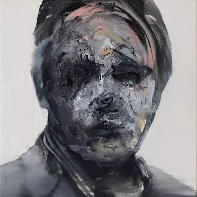 """""""破坏式""""肖像画,容颜是最虚伪的美丽,荷兰画家Daniel Martin插图5"""