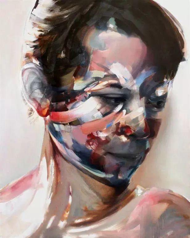 """""""破坏式""""肖像画,容颜是最虚伪的美丽,荷兰画家Daniel Martin插图6"""