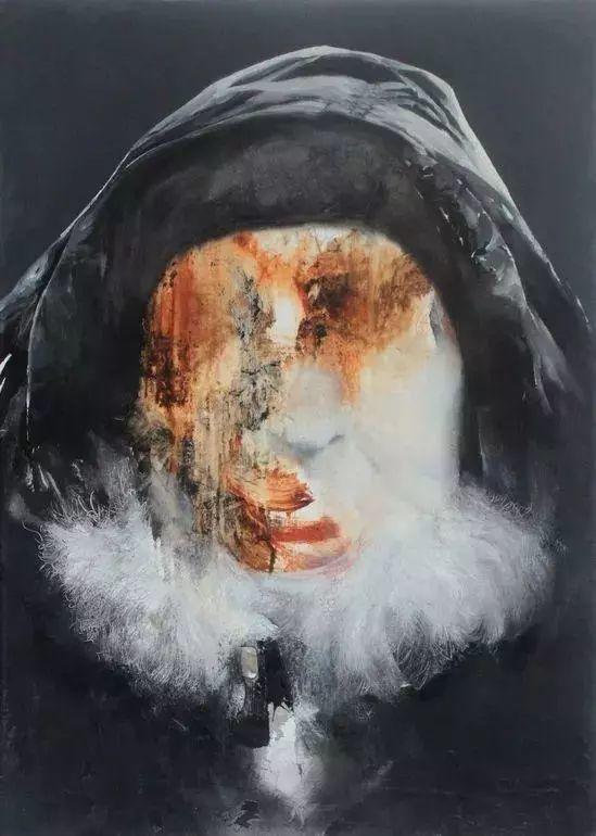"""""""破坏式""""肖像画,容颜是最虚伪的美丽,荷兰画家Daniel Martin插图7"""