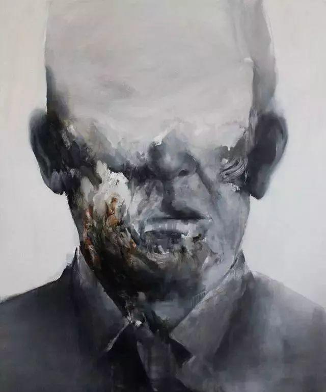 """""""破坏式""""肖像画,容颜是最虚伪的美丽,荷兰画家Daniel Martin插图8"""