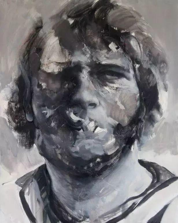 """""""破坏式""""肖像画,容颜是最虚伪的美丽,荷兰画家Daniel Martin插图9"""