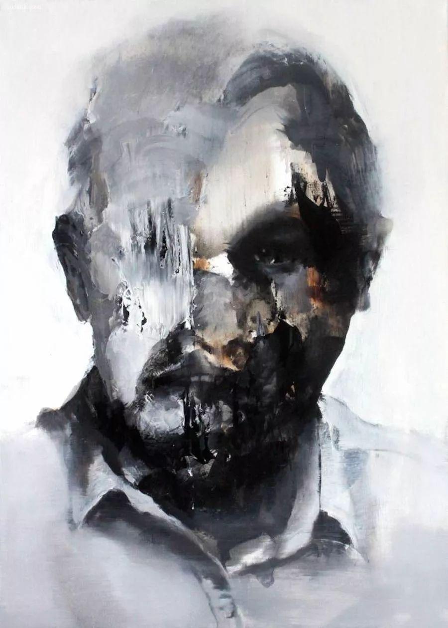 """""""破坏式""""肖像画,容颜是最虚伪的美丽,荷兰画家Daniel Martin插图10"""
