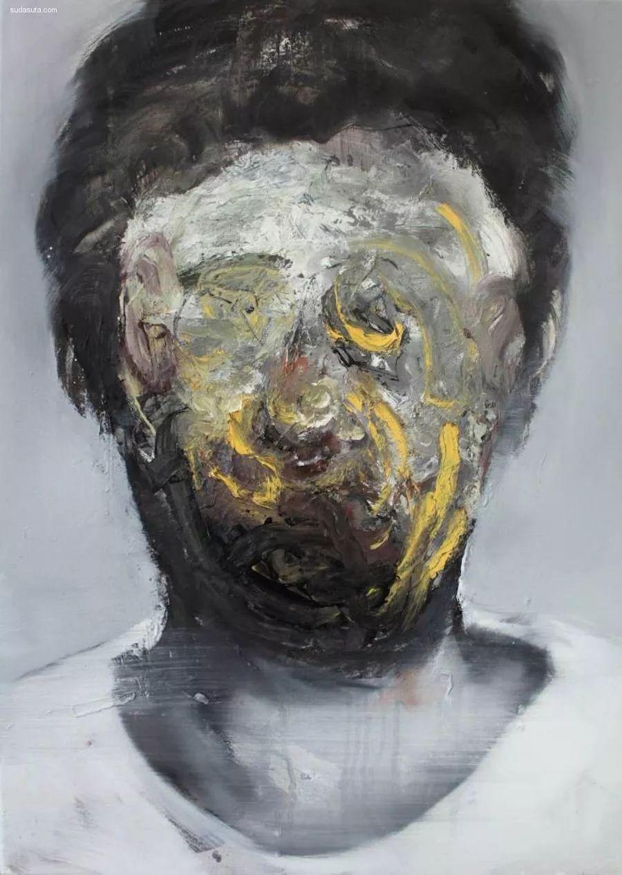 """""""破坏式""""肖像画,容颜是最虚伪的美丽,荷兰画家Daniel Martin插图11"""