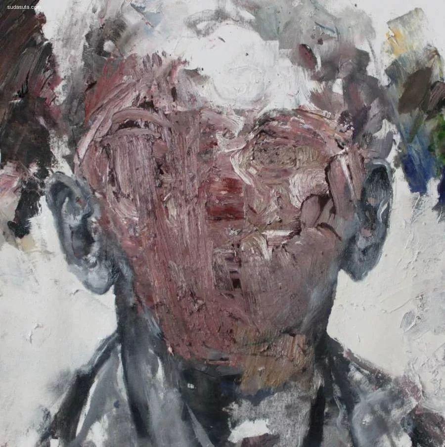 """""""破坏式""""肖像画,容颜是最虚伪的美丽,荷兰画家Daniel Martin插图12"""