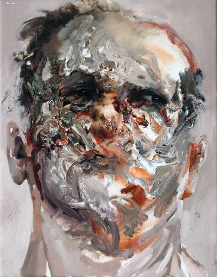 """""""破坏式""""肖像画,容颜是最虚伪的美丽,荷兰画家Daniel Martin插图16"""