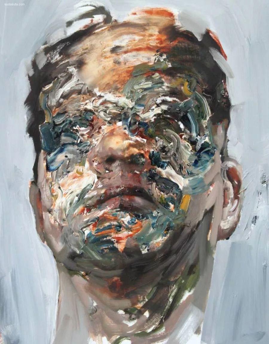 """""""破坏式""""肖像画,容颜是最虚伪的美丽,荷兰画家Daniel Martin插图17"""