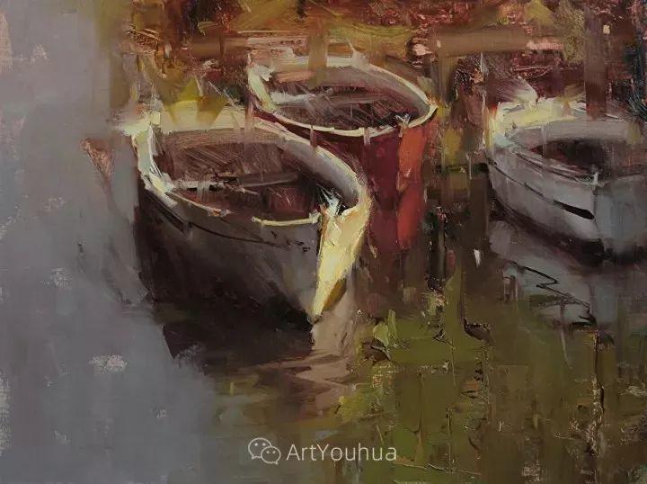 有活力和丰富多样性的风景,斯洛伐克画家Tibor Nagy插图7