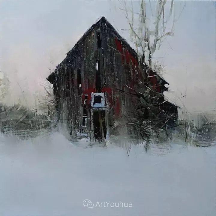 有活力和丰富多样性的风景,斯洛伐克画家Tibor Nagy插图13