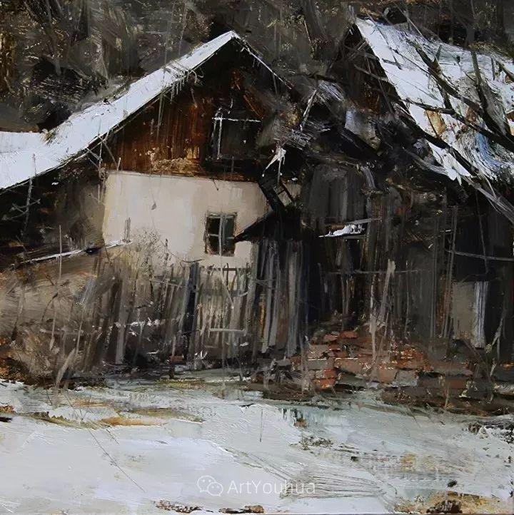 有活力和丰富多样性的风景,斯洛伐克画家Tibor Nagy插图14