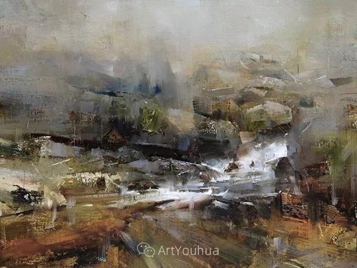 有活力和丰富多样性的风景,斯洛伐克画家Tibor Nagy插图22