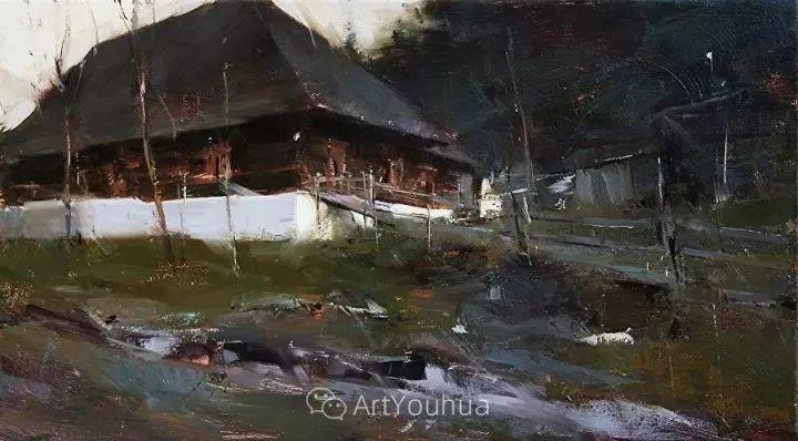 有活力和丰富多样性的风景,斯洛伐克画家Tibor Nagy插图25