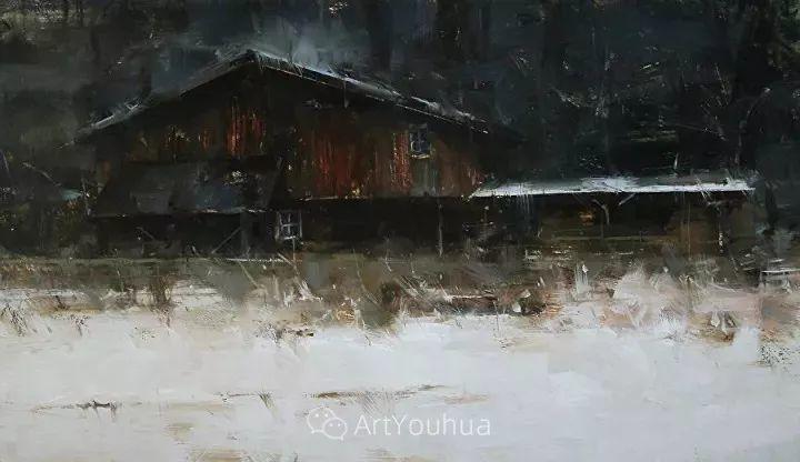 有活力和丰富多样性的风景,斯洛伐克画家Tibor Nagy插图27