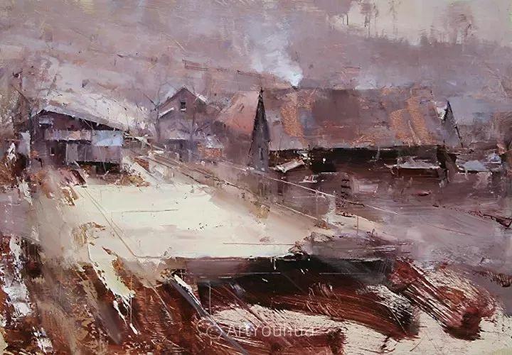 有活力和丰富多样性的风景,斯洛伐克画家Tibor Nagy插图30