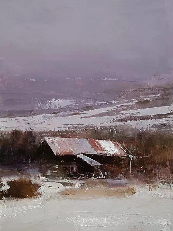 有活力和丰富多样性的风景,斯洛伐克画家Tibor Nagy插图32