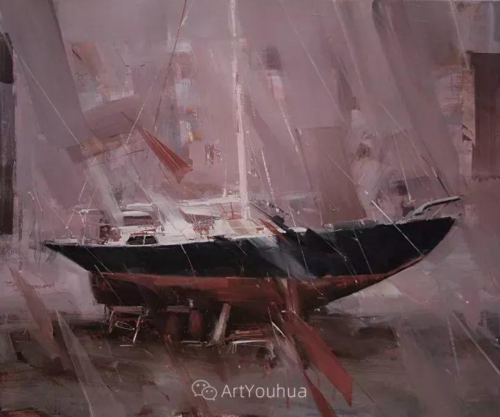 有活力和丰富多样性的风景,斯洛伐克画家Tibor Nagy插图35
