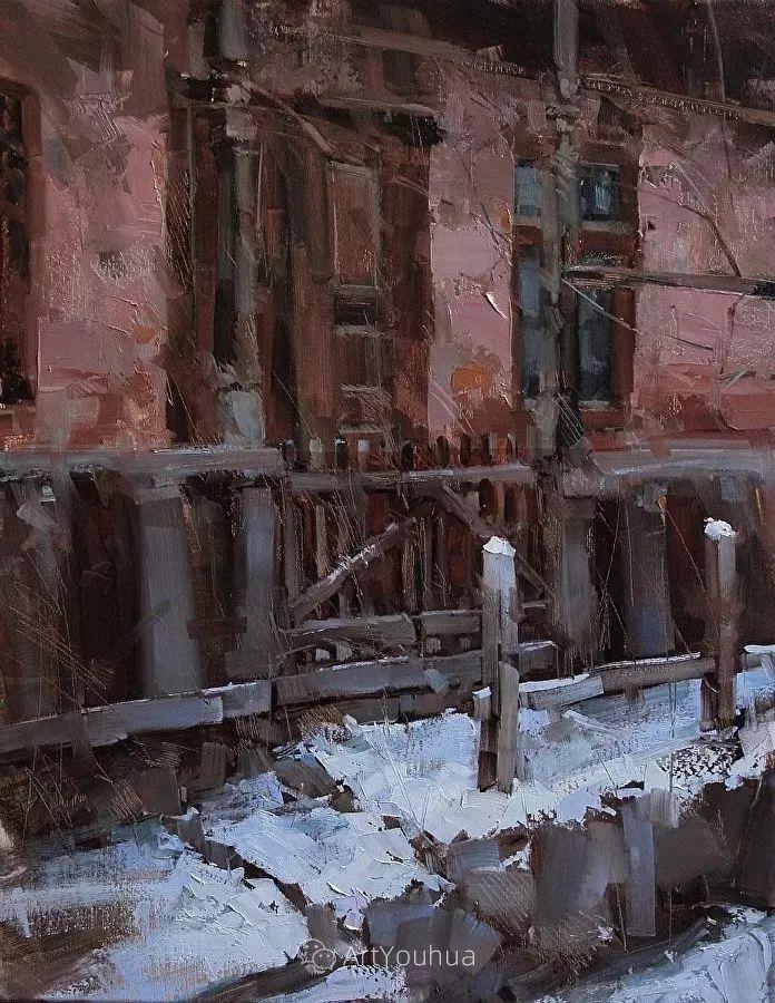 有活力和丰富多样性的风景,斯洛伐克画家Tibor Nagy插图37