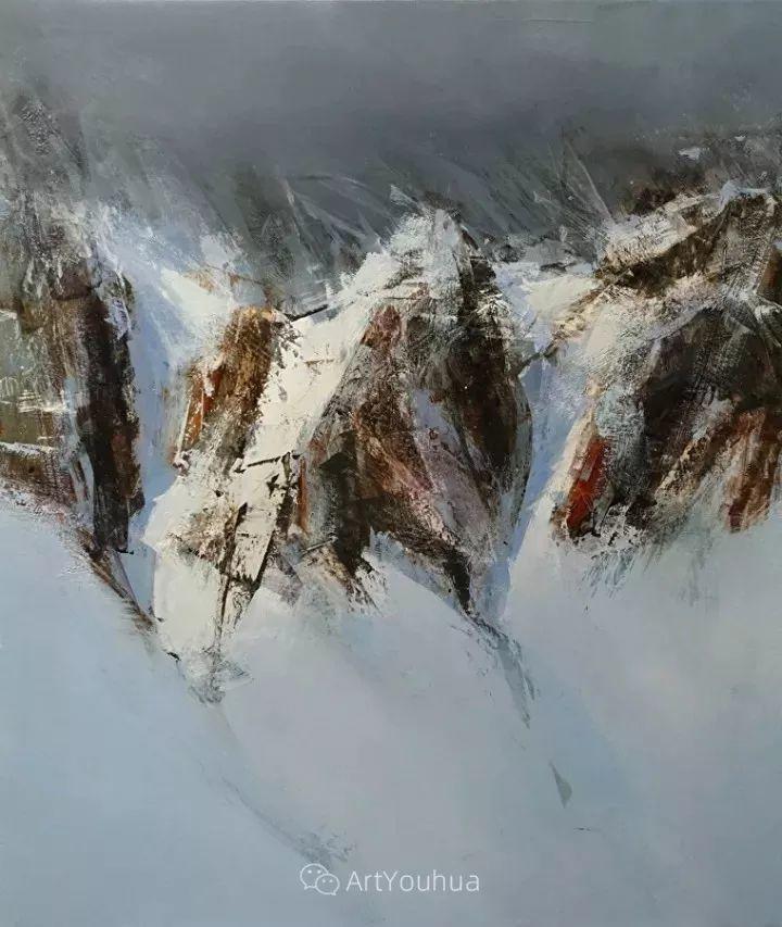 有活力和丰富多样性的风景,斯洛伐克画家Tibor Nagy插图47