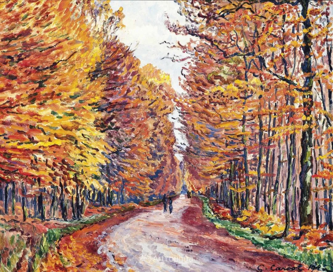 从未接受自己是印象派,法国著名画家Cariot插图1