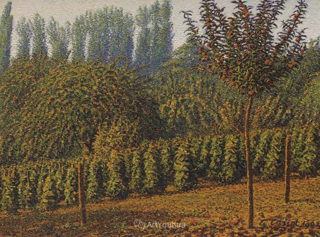 从未接受自己是印象派,法国著名画家Cariot插图7
