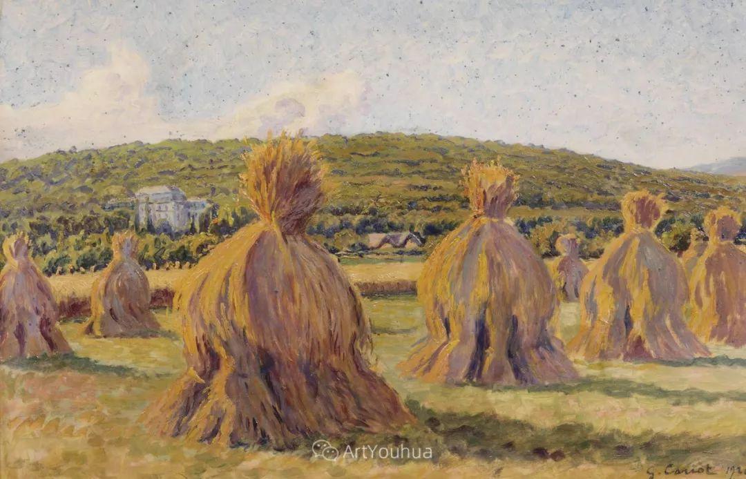 从未接受自己是印象派,法国著名画家Cariot插图11