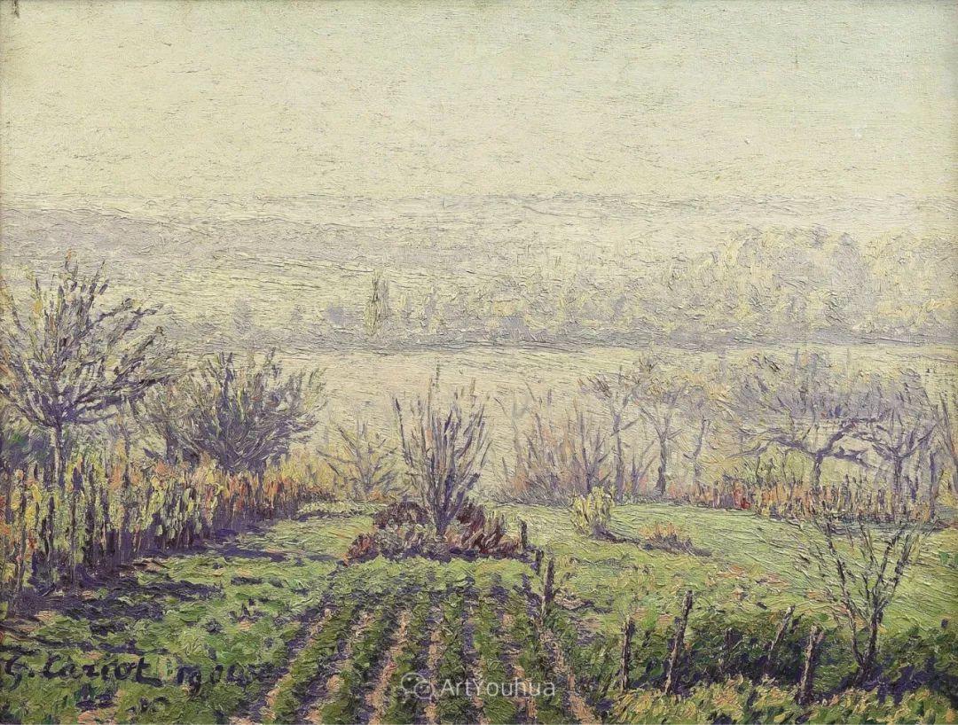 从未接受自己是印象派,法国著名画家Cariot插图21