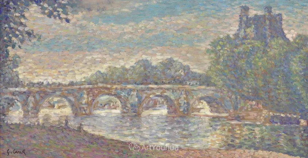 从未接受自己是印象派,法国著名画家Cariot插图25