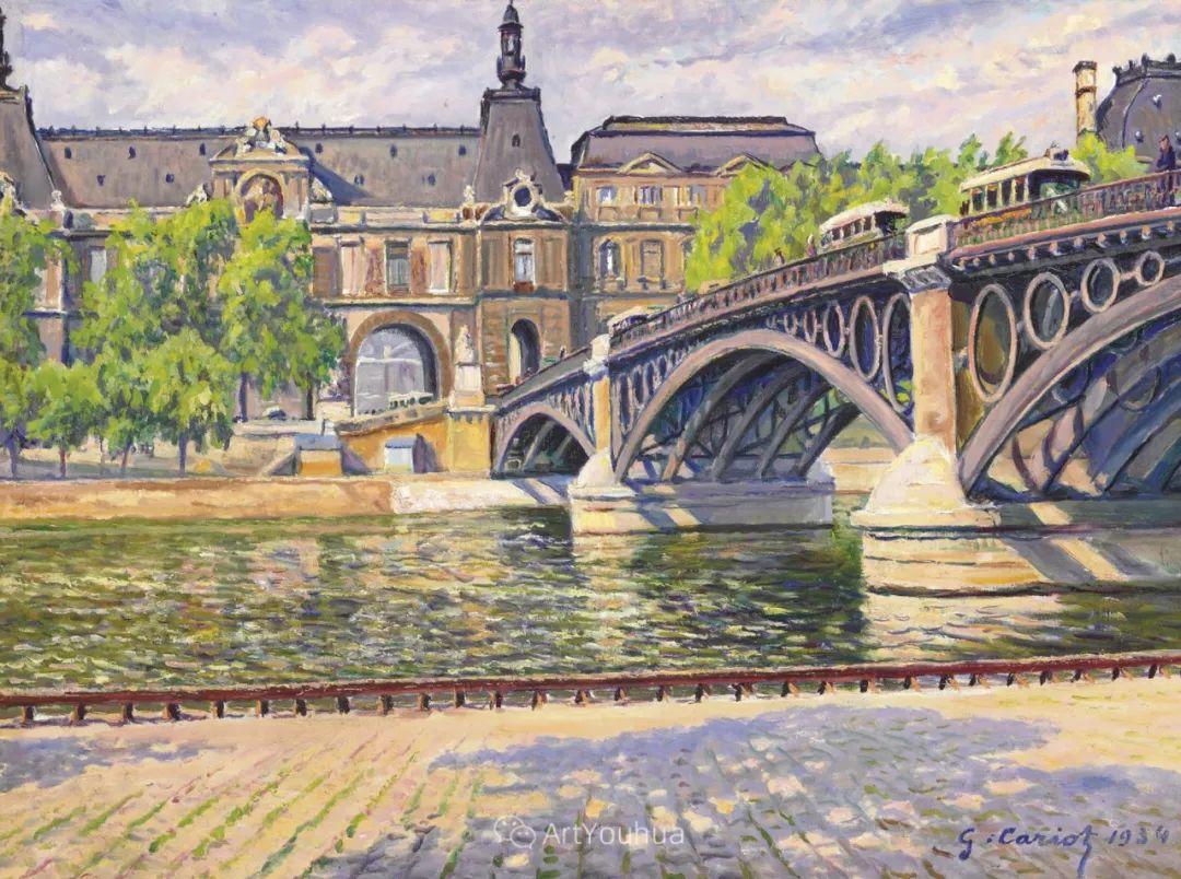 从未接受自己是印象派,法国著名画家Cariot插图31