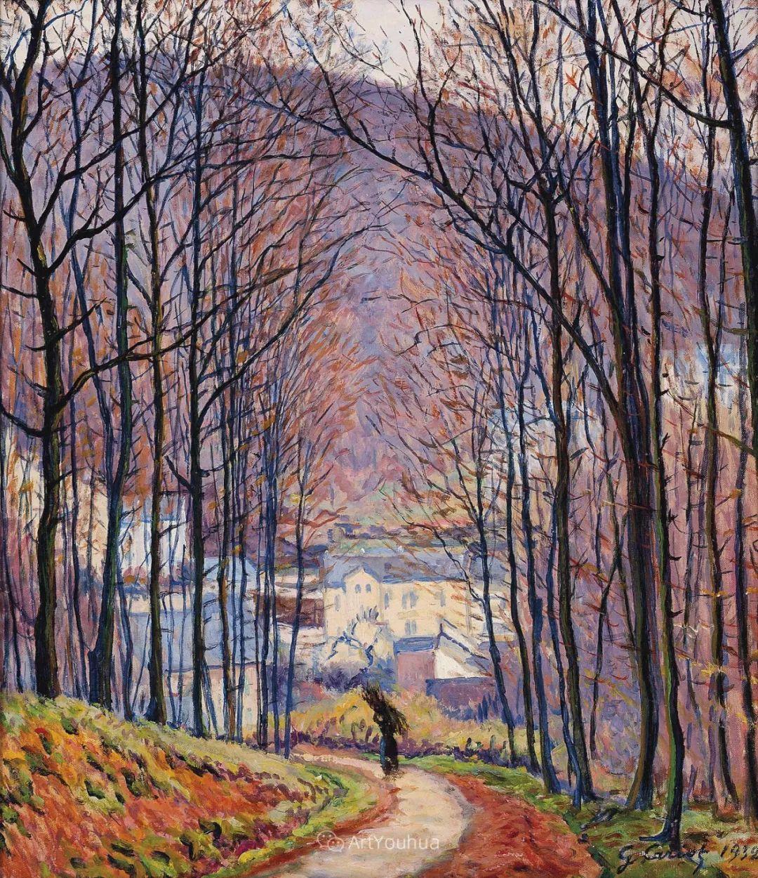 从未接受自己是印象派,法国著名画家Cariot插图41
