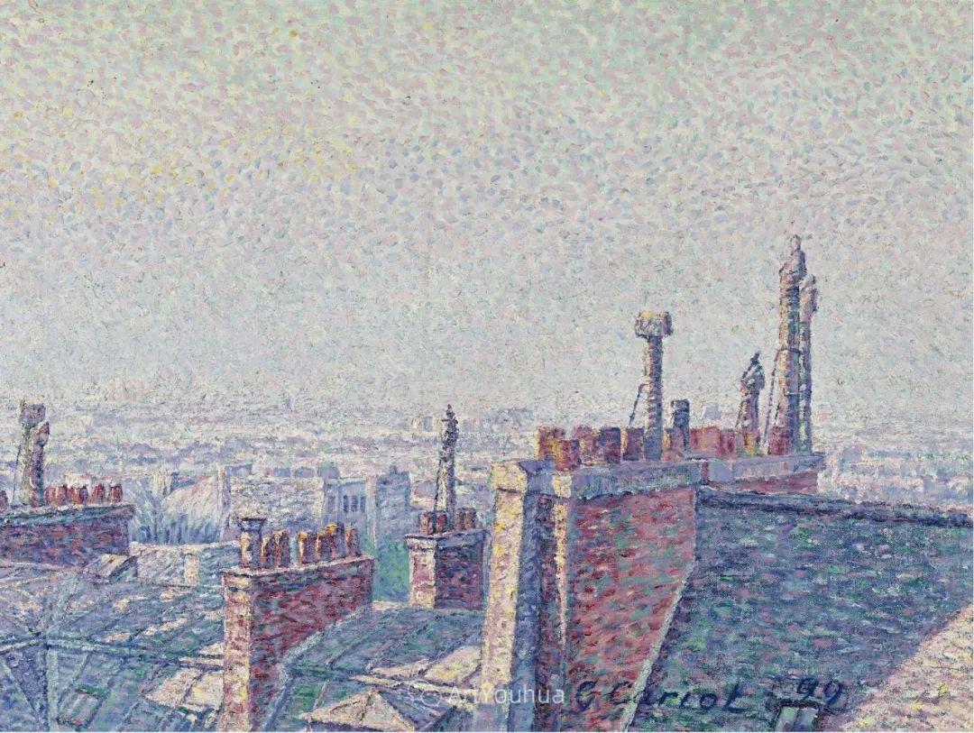 从未接受自己是印象派,法国著名画家Cariot插图49