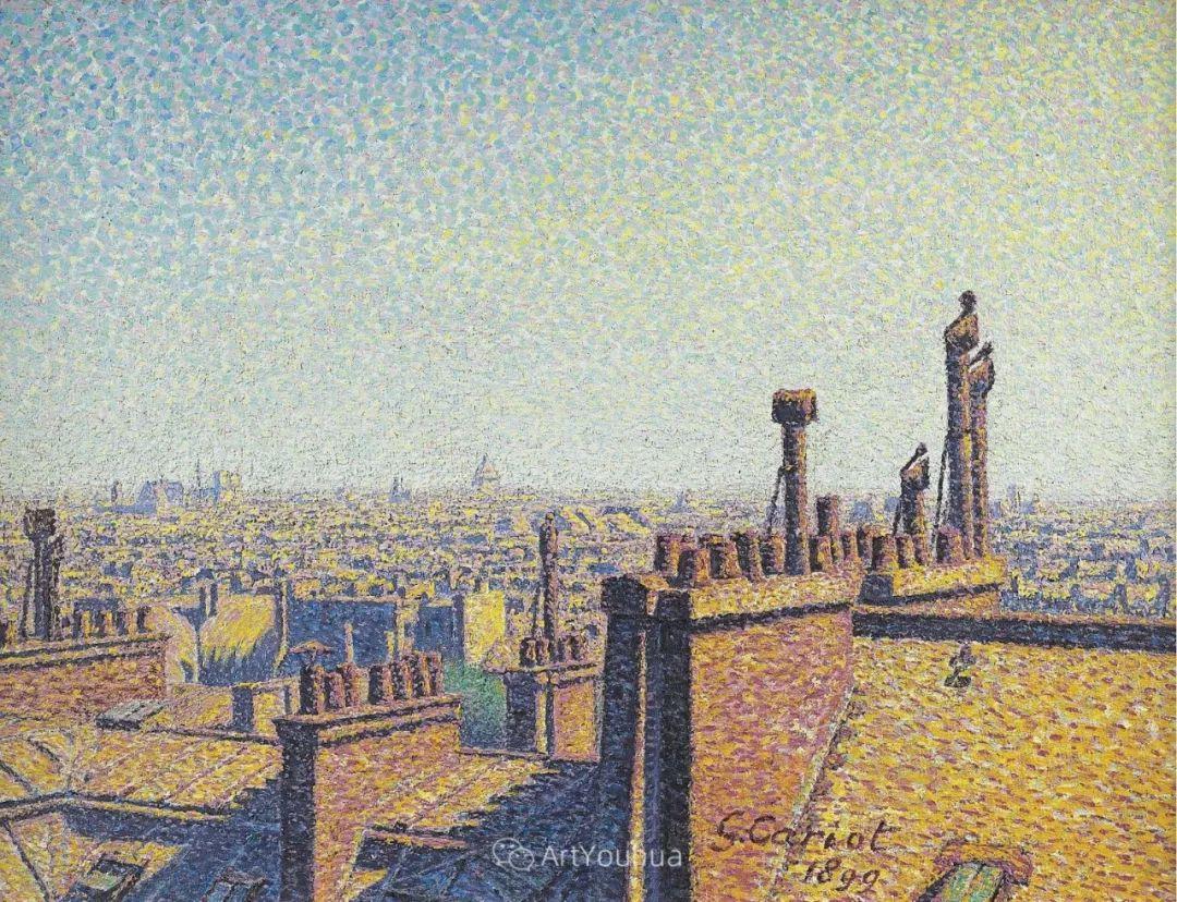 从未接受自己是印象派,法国著名画家Cariot插图51