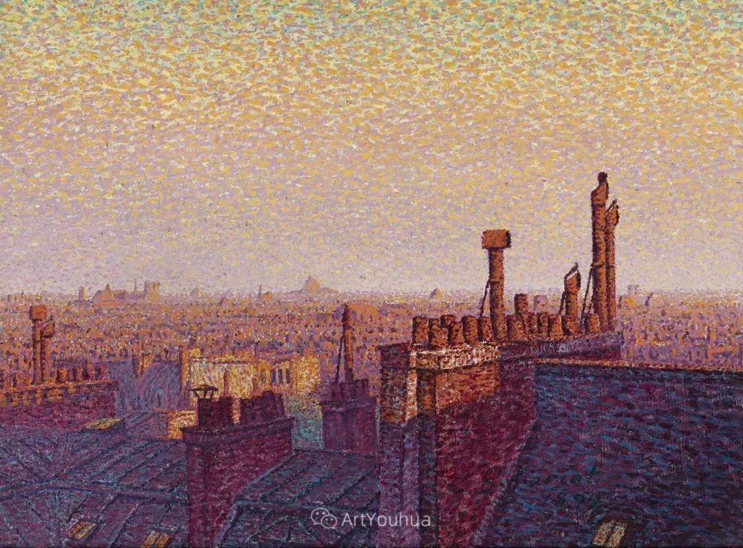 从未接受自己是印象派,法国著名画家Cariot插图53