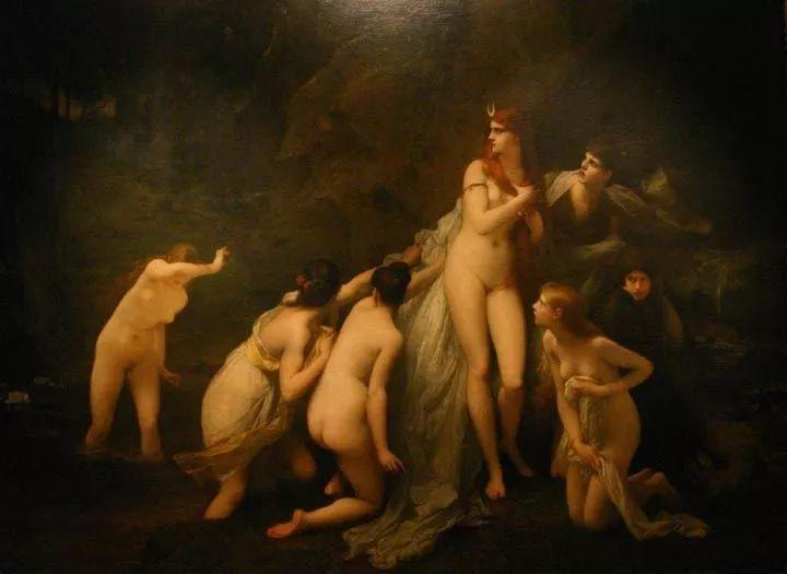 对不起,你的人像作品美到我了!法国学院派画家Jules Joseph Lefebvre插图1