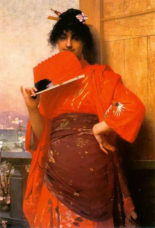 对不起,你的人像作品美到我了!法国学院派画家Jules Joseph Lefebvre插图3
