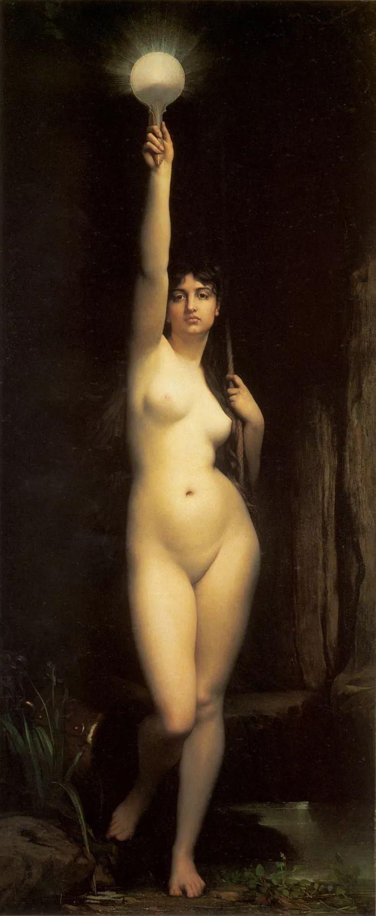 对不起,你的人像作品美到我了!法国学院派画家Jules Joseph Lefebvre插图13