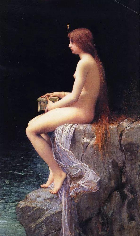 对不起,你的人像作品美到我了!法国学院派画家Jules Joseph Lefebvre插图19